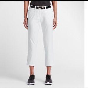 Nike Golf Tour Performance White Capri Crop pants